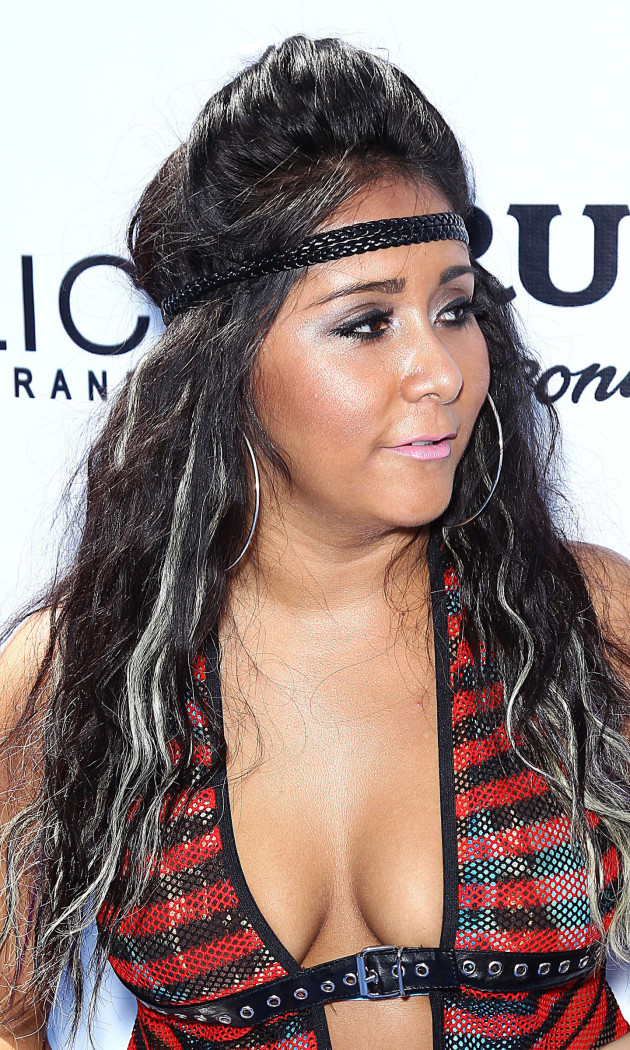 Snooki Cleavage Photo