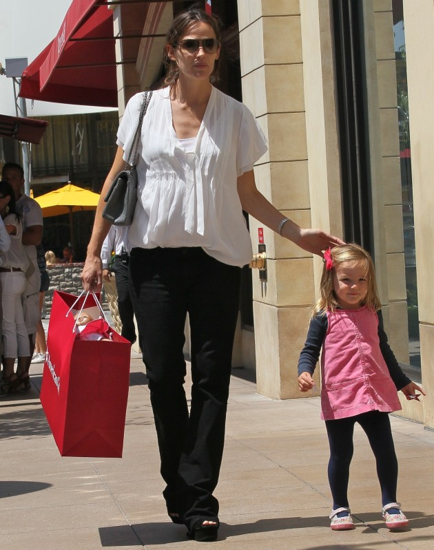 Jennifer Garner and Daughter