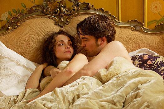 Robert Pattinson in Bed