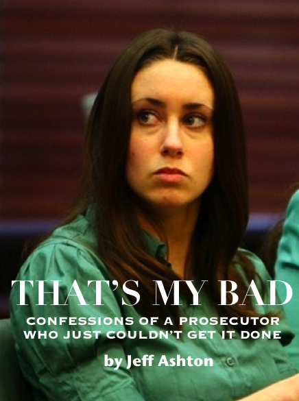 Fake Casey Anthony Book Cover