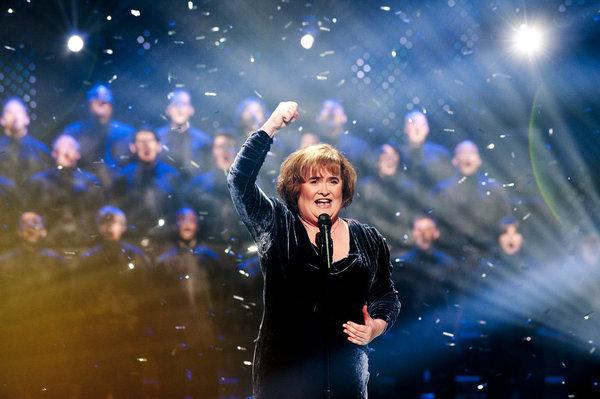Susan Boyle on AGT