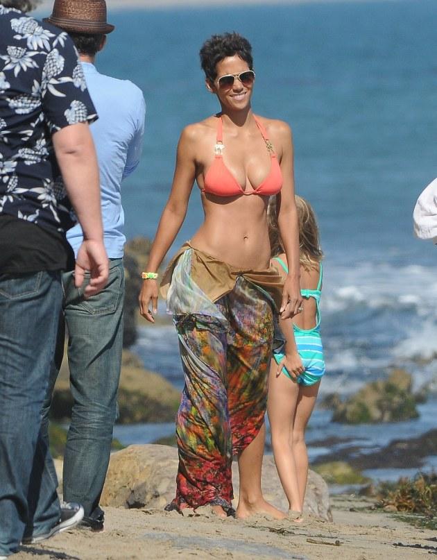 Halle Berry Bikini Body