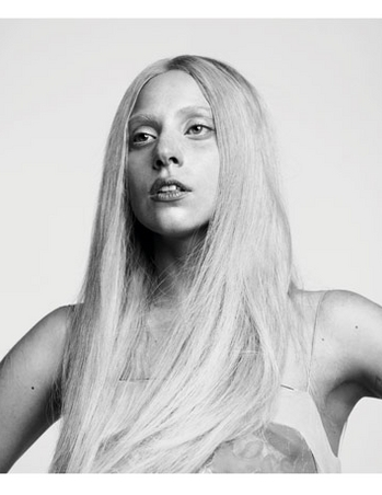 Lady Gaga in No Makeup