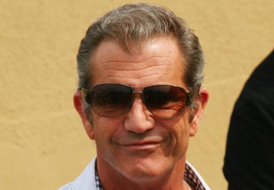 Mel Gibson Smirks
