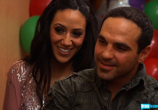 Joe and Melissa Gorga