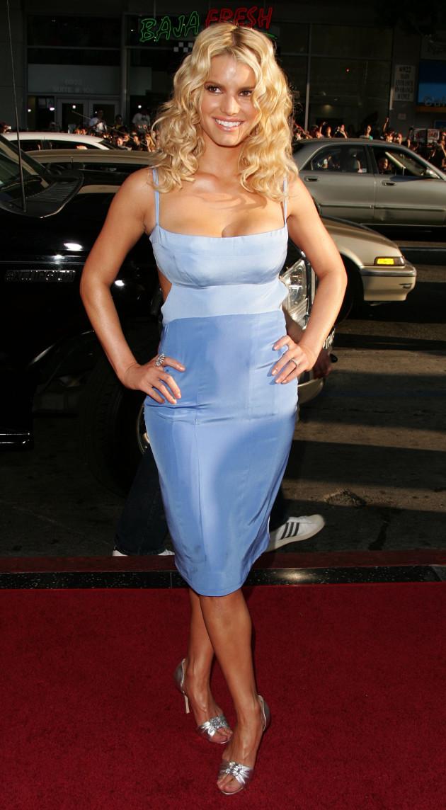 Jessica Simpson, Body
