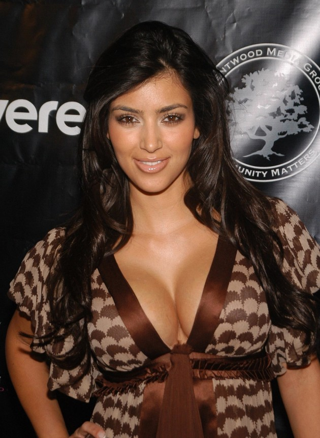 Kim Kardashian's Chest