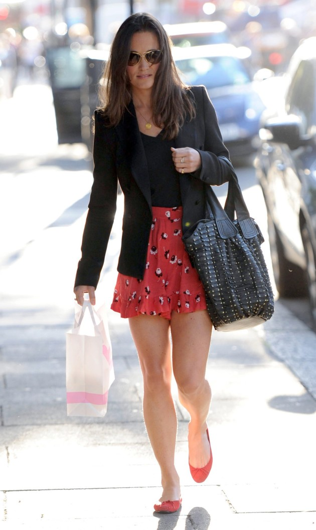 Pippa Middleton Short Skirt
