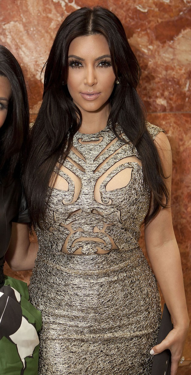Kim Kardashian Chest