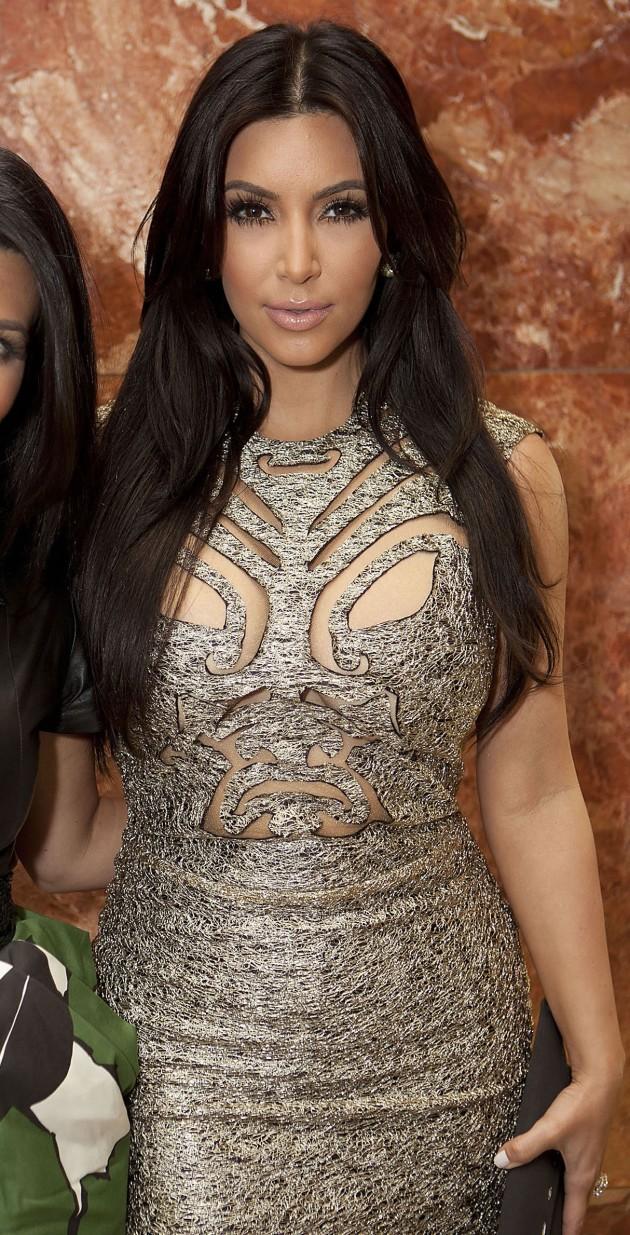 Kim Kardashian Chest