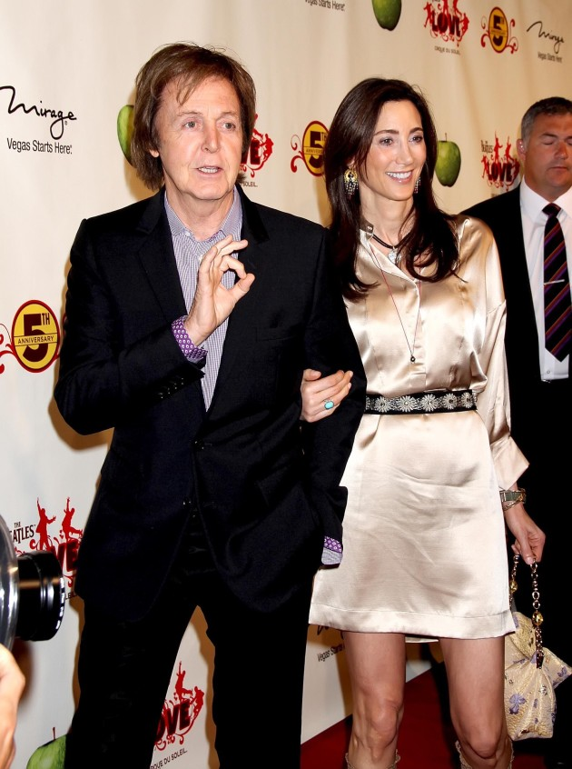 Nancy Shevell, Paul McCartney