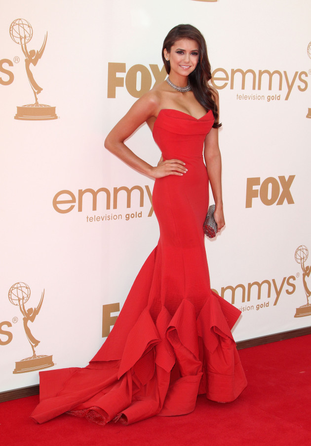 Nina Dobrev at the Emmys