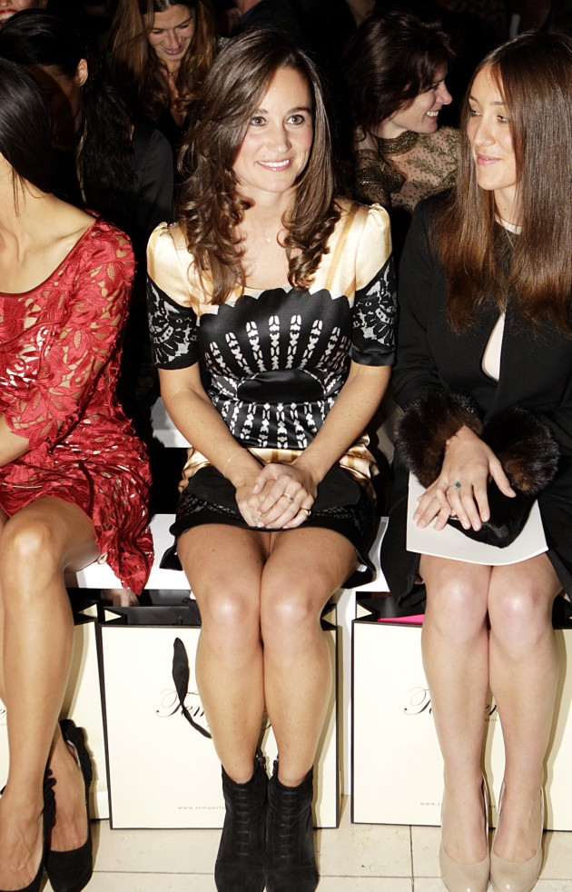 Pippa at Fashion Week