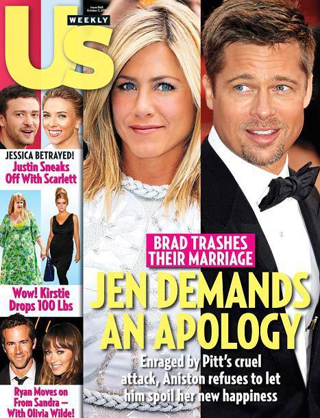 Jen Aniston: Blindsided By Brad!
