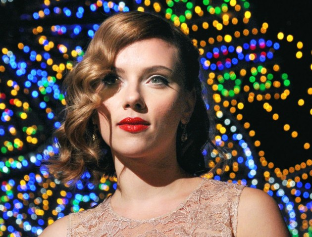 Scarlett Johansson in Milan