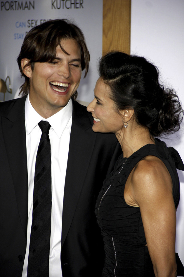 Ashton Kutcher and Demi Moore Picture