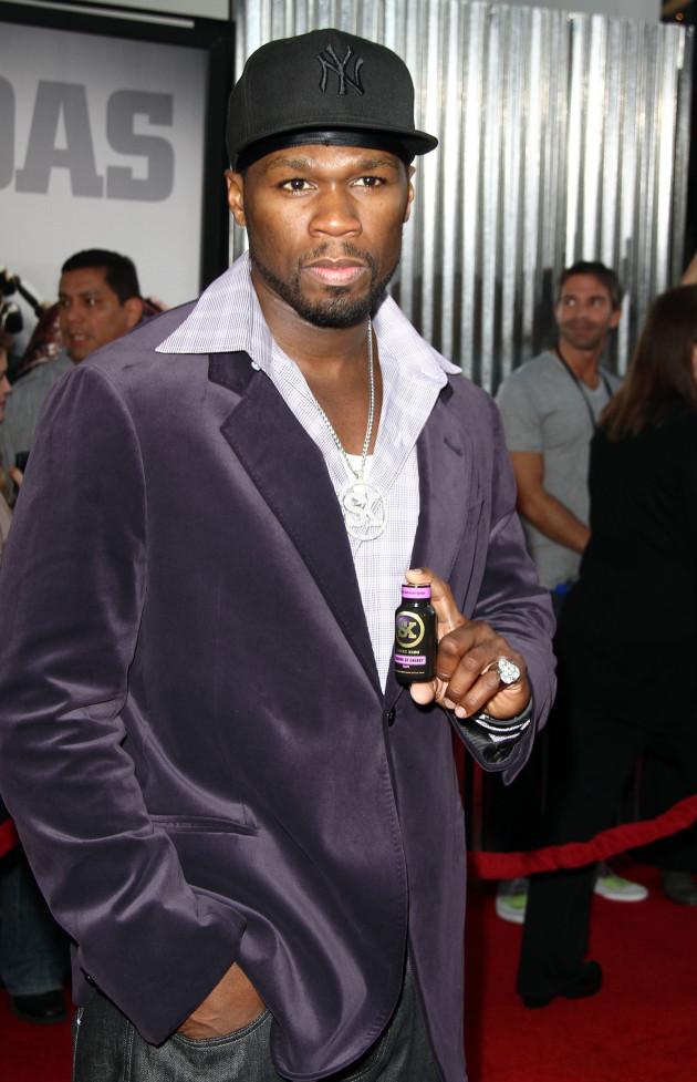 50 Cent Premiere Pic