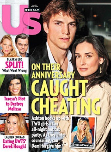 Ashton Kutcher on Us Weekly