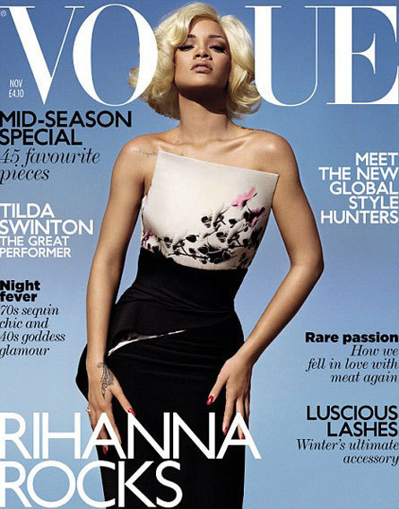 Rihanna Vogue UK Cover