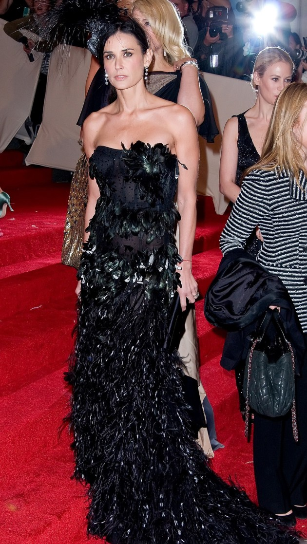 Demi Moore Red Carpet Pic