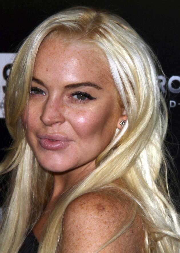 Lindsay Lohan, Fake Lips