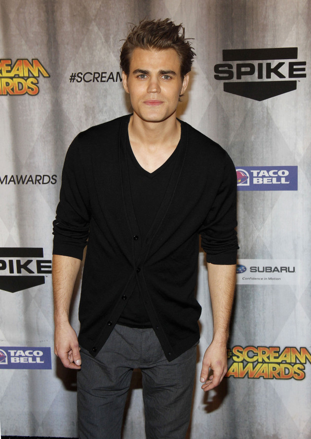 Paul Wesley at the Scream Awards