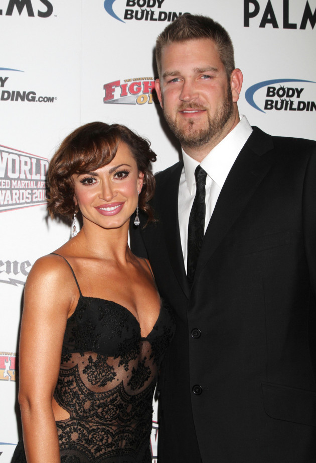Karina Smirnoff and Brad Penny Photo