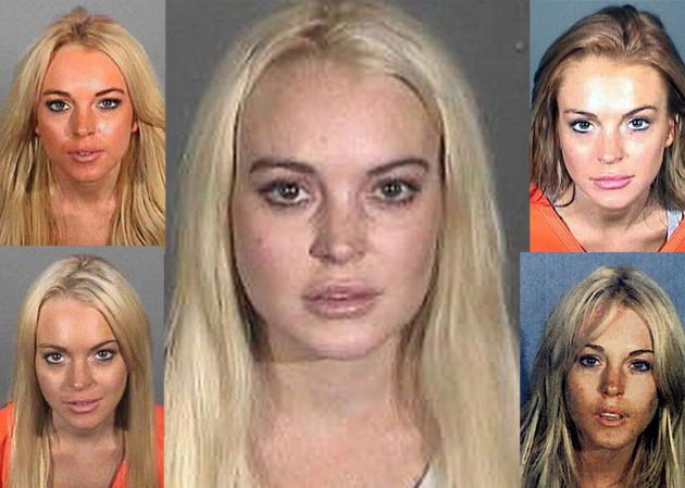 Lindsay Lohan Mug Shots