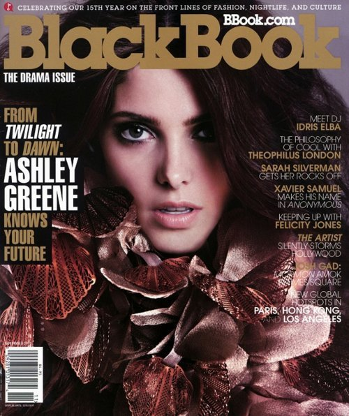 Ashley Greene BlackBook Cover