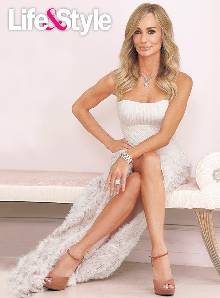 Taylor Armstrong in Life & Style