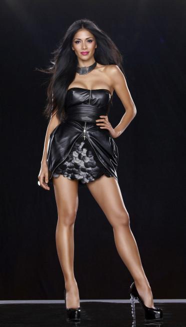 Nicole Scherzinger X Factor Pic