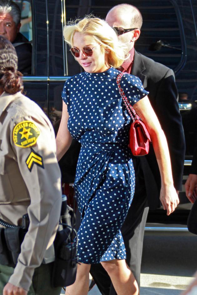 Lindsay Lohan at Sentencing