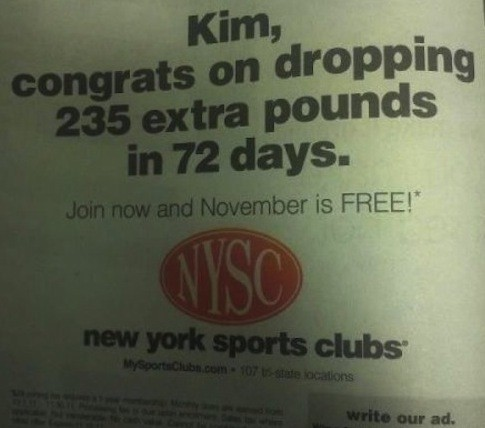 Kim Kardashian Drops 235 Pounds in 72 Days!