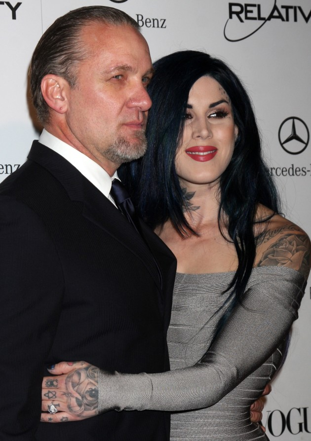 Kat Von D, Jesse James Picture
