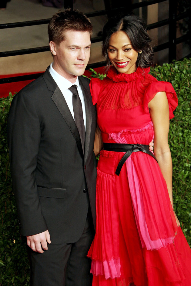 Keith Britton and Zoe Saldana