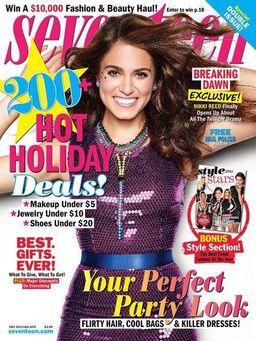 Nikki Reed Seventeen Cover