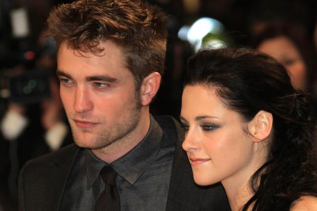 Robert Pattinson and Kristen Stewart in London