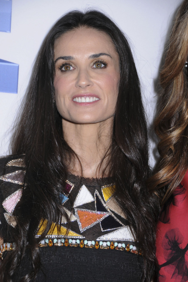 Demi Moore on Her Own