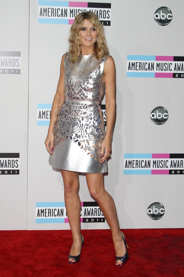 Heidi Klum at the AMAs