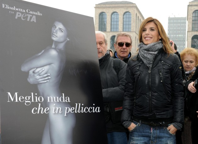Elisabetta Canalis in Italy
