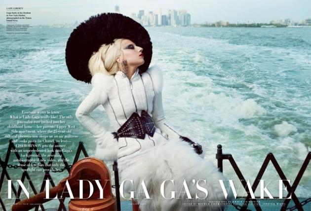 Lady Gaga Vanity Fair Pic
