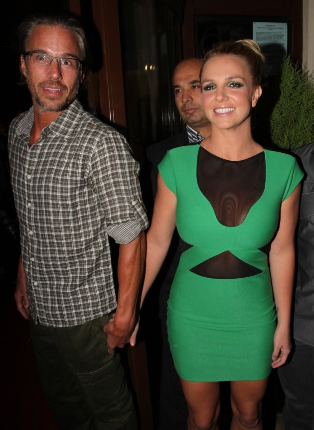 Jason Trawick, Britney Spears Picture