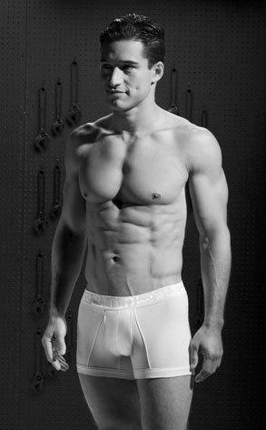 Mario Lopez Underwear