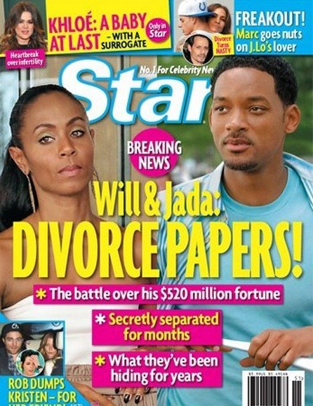 Will and Jada to Divorce?