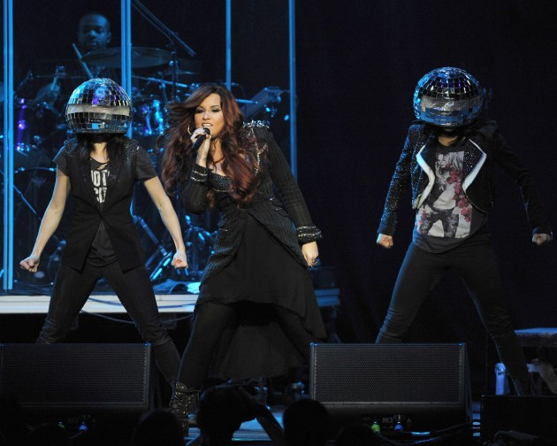 Demi Lovato Jingle Ball Performance Pic