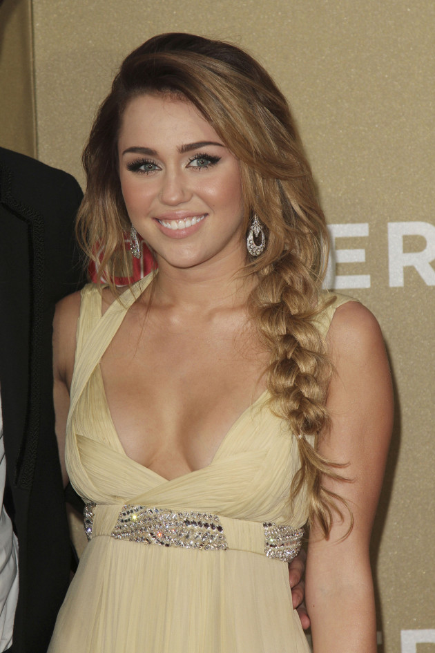 Miley Cyrus at CNN Heroes Tribute