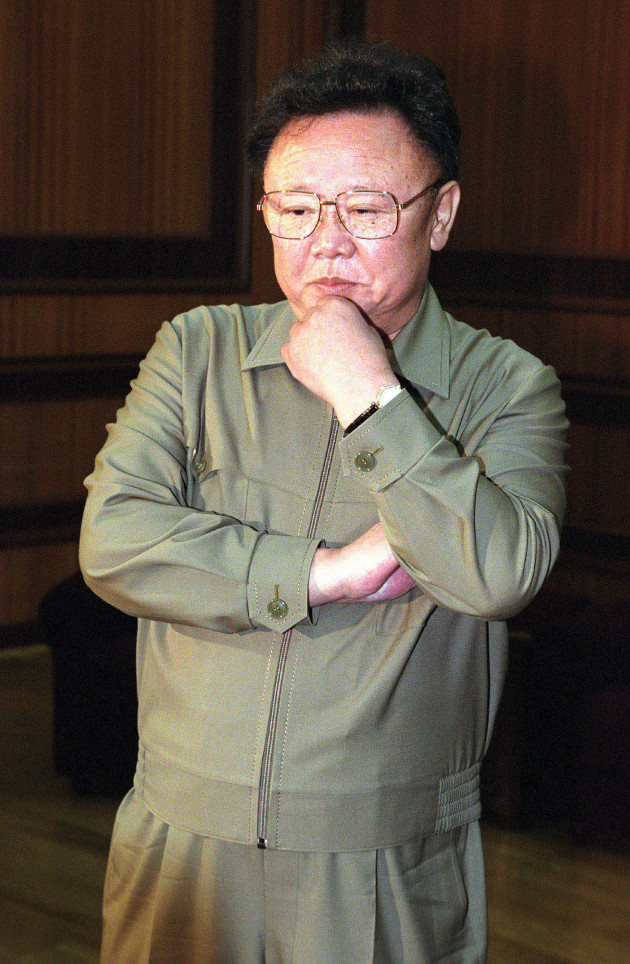 kim jong il picture the hollywood gossip. Black Bedroom Furniture Sets. Home Design Ideas
