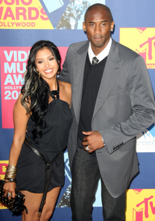 Kobe and Vanessa Bryant Pic