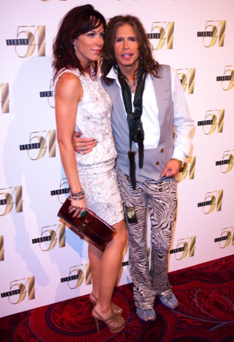 Steven Tyler and Erin Brady