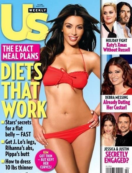 Kim Kardashian Bikini Cover
